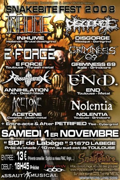 23. Snakebite Fest (01.11.08)