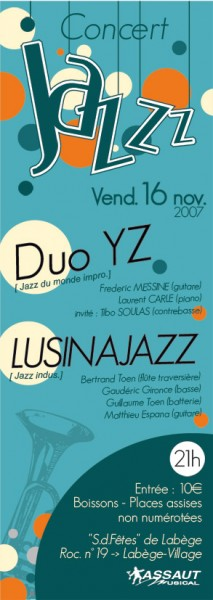 Jazz couleur(16.11.07)